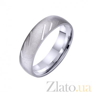 Золотое обручальное кольцо Роман о любви TRF--421268