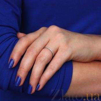 Кольцо в белом золоте Аюна с фианитами SVA--1101281102/Фианит/Цирконий