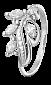 Серебряное кольцо Олимпия с фианитами 000025551