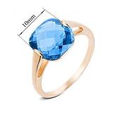 Золотое кольцо с топазом Джесси