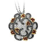 Золотое колье с рубинами и бриллиантами Катарина