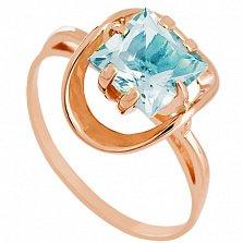 Золотое кольцо Заир с топазом