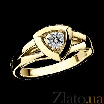 Бриллиантовое кольцо в лимонном золоте Dream & Love R-BDL-E-diam