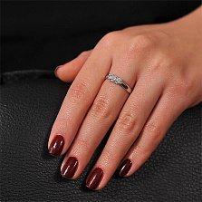 Золотое кольцо с бриллиантами Эра