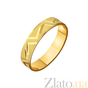Золотое обручальное кольцо Ты мой сон TRF--4111341