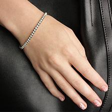 Браслет из белого золота с бриллиантами Ванесса