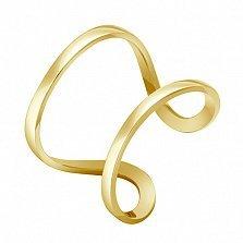 Кольцо Стиль в желтом золоте