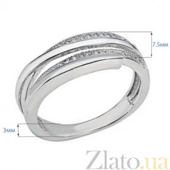 Кольцо серебро с куб. цирконом AQA--SJR-3000