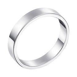 Серебряное обручальное кольцо Модная класиика