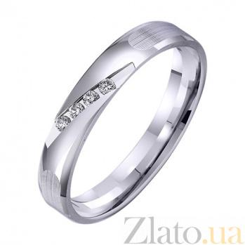 Золотое обручальное кольцо Небесный дар TRF--422760