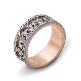 Золотое обручальное кольцо с фианитами Вкус любви