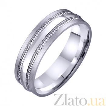 Золотое обручальное кольцо Феерия чувств TRF--421513
