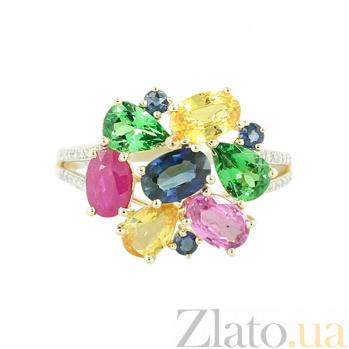 Золотое кольцо с сапфирами Евгения 1К562-0362