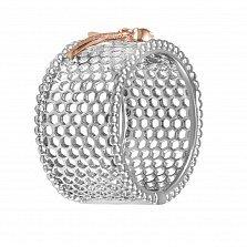 Кольцо Баттерфляй из золота с бриллиантами
