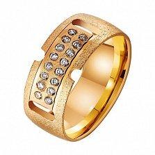 Золотое обручальное кольцо Семейные ценности