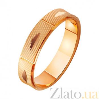 Золотое обручальное кольцо Бесконечное сияние TRF--411990