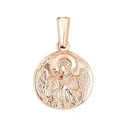 Ладанка из красного золота Ангел Хранитель 000141392