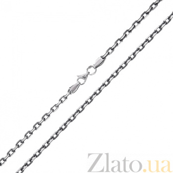 Серебряная цепочка Имидж с родиевым покрытием 000015006