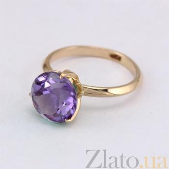 Золотое кольцо с александритом Азиза 000024462
