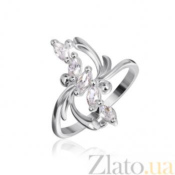Серебряное кольцо с цирконием Иоанна 000025550