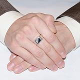 Серебряное кольцо Роберт