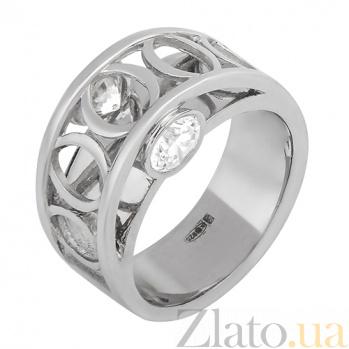 Серебряное кольцо Double stone Double stone