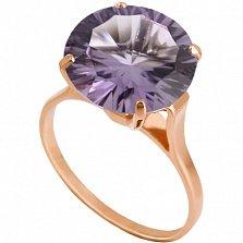 Золотое кольцо с аметистом Диодора