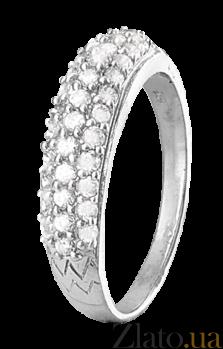 Кольцо из серебра с цирконием Аммелайн 000025743
