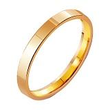 Золотое обручальное кольцо Классическая американка