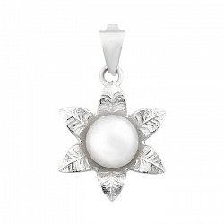 Срібний кулон з перлами 000116054