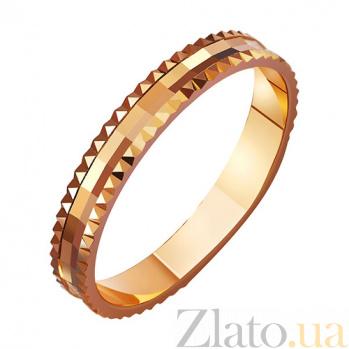 Золотое обручальное кольцо Сказочная жизнь TRF--411024