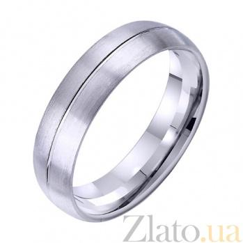 Золотое обручальное кольцо Любовный слог TRF--4211734