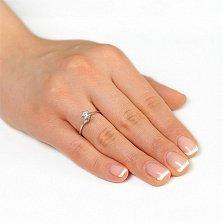 Золотое кольцо с кристаллом Swarovski Предложение