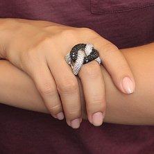 Серебряное кольцо Мерга