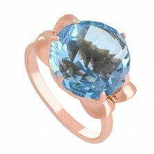 Золотое кольцо Самида с топазом