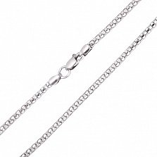 Серебряная цепочка Венецианское плетение, 2,1мм