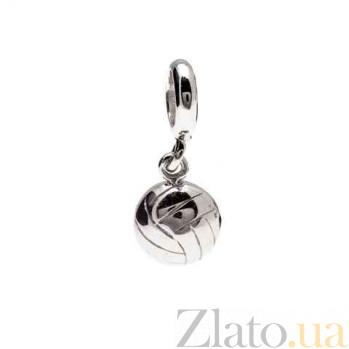 Серебряная бусина Футбольный мяч AQA--131510054/5