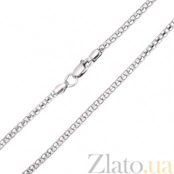 Серебряная цепочка Венецианское плетение, 2,1мм TNG--800502С