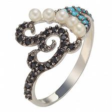 Серебряное кольцо Ночное рандеву Ладжина