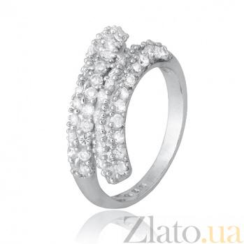 Серебряное кольцо с цирконием Юнру 000028110