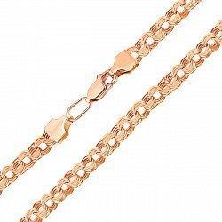 Цепочка из красного золота с алмазной гранью 000136490