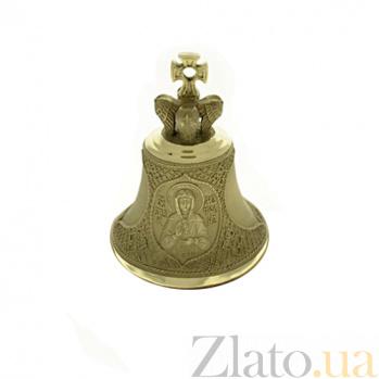 Бронзовый именной колокольчик Св. Матрона Ч9111