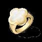 Перламутровое кольцо в желтом золоте Alhambra R-VCA-Algamra-E-nacre(G)