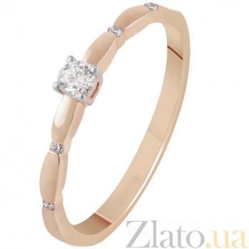 Золотое кольцо с бриллиантами Астрид KBL--К1967/крас/брил