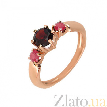 Кольцо из красного золота Эвридика VLT--ПН1536