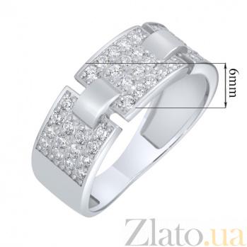 Серебряное кольцо Кристиана AUR--81522б