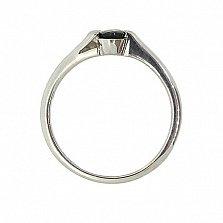 Серебряное кольцо с сапфиром Файна