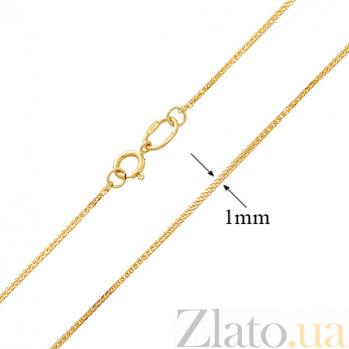 Золотая цепочка Нарния в желтом цвете SUF--303502ж в интернет магазине Злато