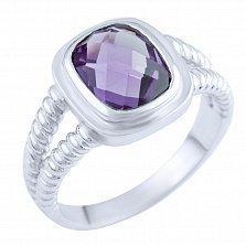 Серебряное кольцо Керри с александритом