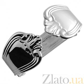 Серебряная салфетница Ольга ZMX--110_383